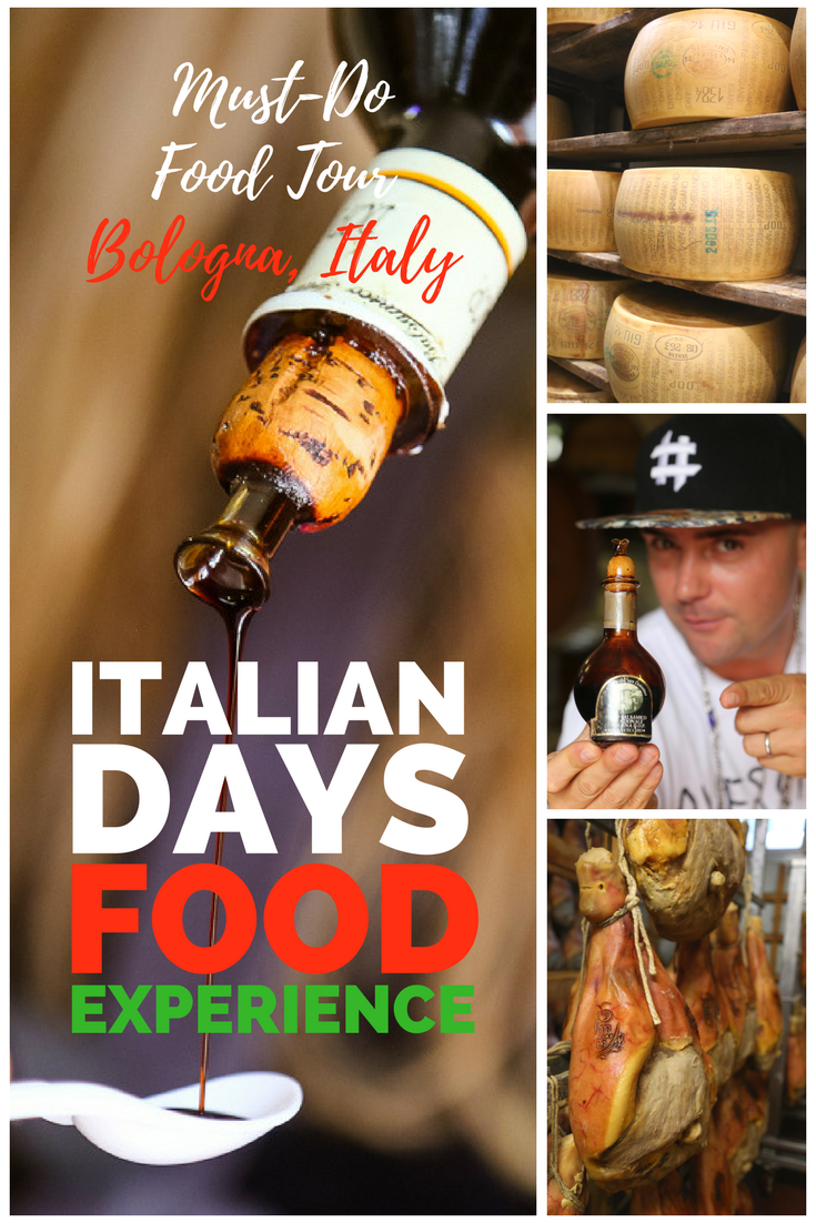 Italian Days Food Experience is the best food tour in Bologna!
