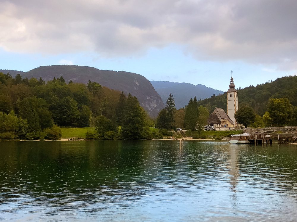 Church of St. John the Baptist, Lake Bohinj, Slovenia