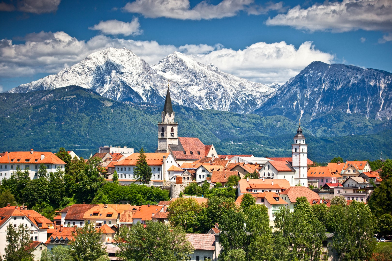 Kranj, Slovenia, one of the best day trips from Ljubljana