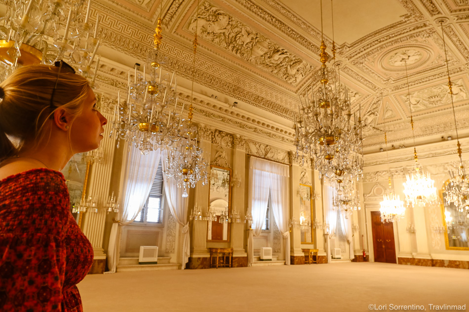 In awe of the Palazzo Pitti, Florence, Italy