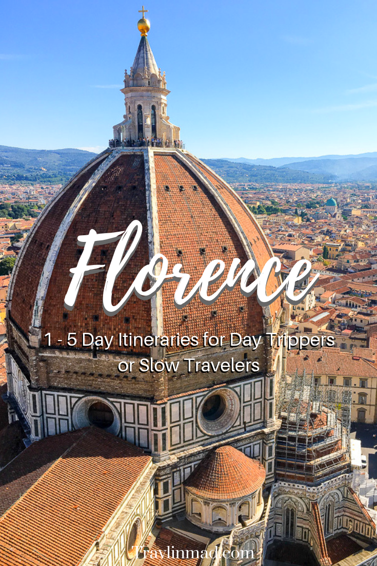 Planning for Italy and wondering how many days in Florence? These Florence itineraries for day trippers or slow travelers will help you plan things to do and where to stay in #Florence.