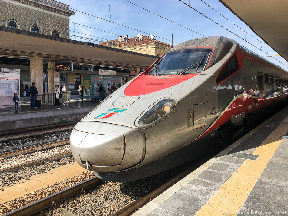 Train to Florence, Italy