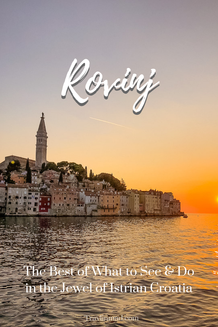 There are so many things to do in Rovinj, restaurants, crystal waters, and amazing local food and wine. #Rovinj #Croatia