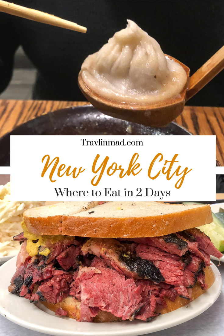 Where to eat in two days in NYC; the best ethnic food in NYC
