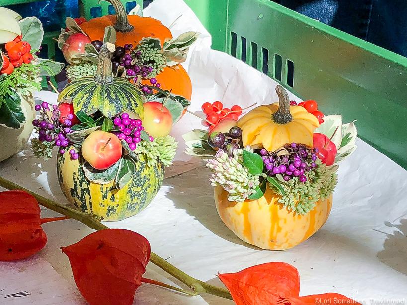Autumn bouquets, Lendplatz Market, Graz, Austria