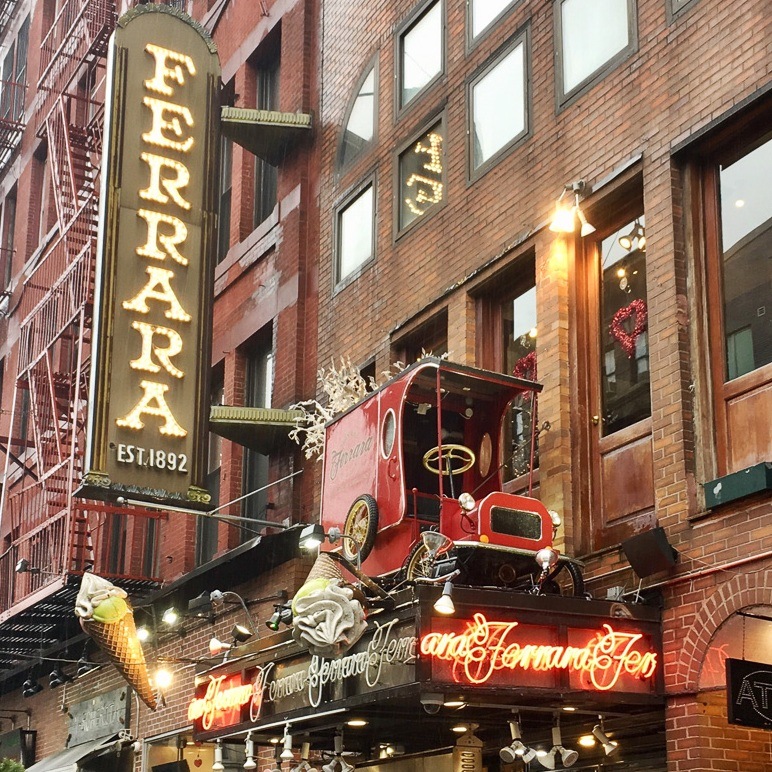 Ferrara's Bakery, NYC