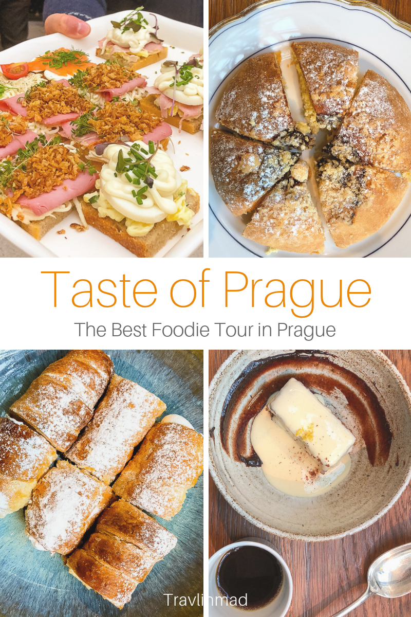 Take the Foodie Tour with Taste of Prague food tour to dive deep into Czech cuisine, and taste centuries of history and culture through the food! #Praguefoodtour #TasteofPrague #Prague #CzechRepublic