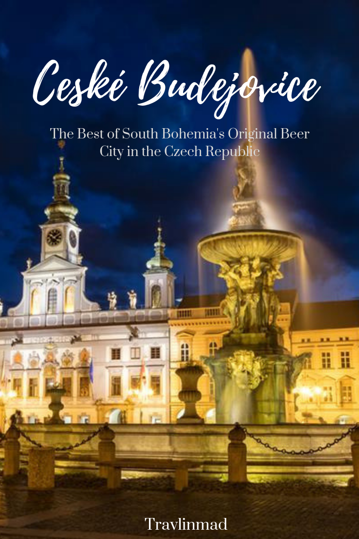České Budějovice, the capital of South Bohemia in the Czech Republic is the original home of Budweiser beer, but there are so many interesting things to do!