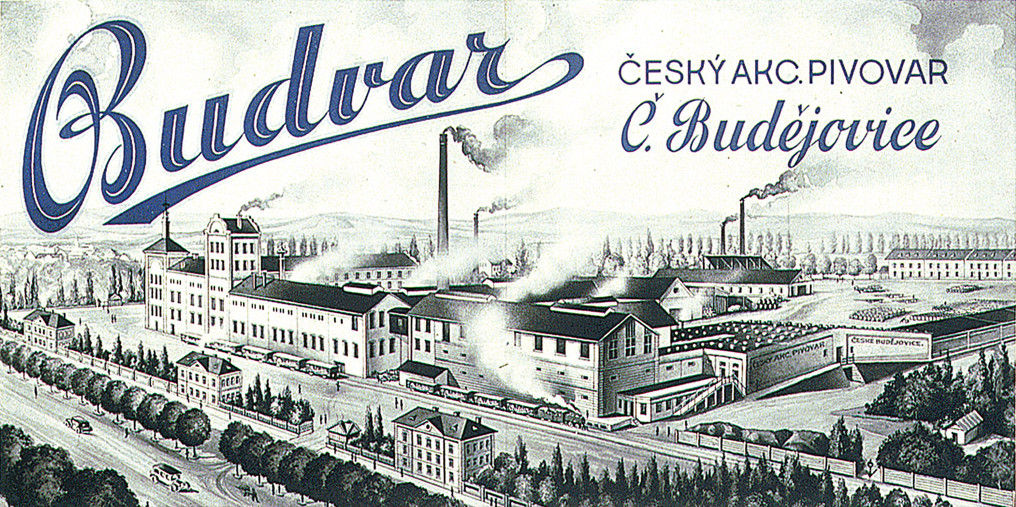 Postcard courtesy of Budějovický Budvar