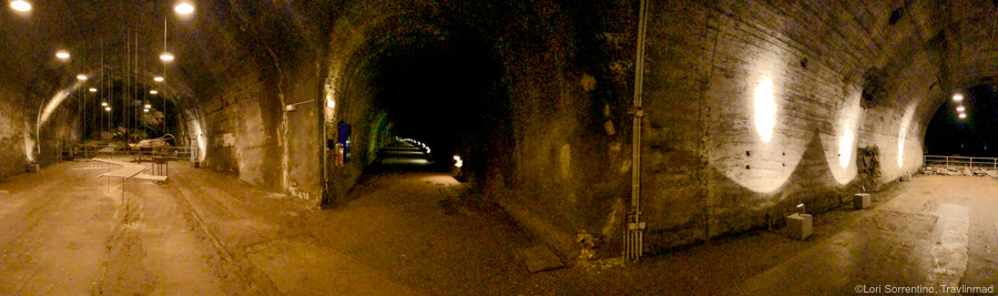 Panorama of the Mittelbau-Dora tunnel complex