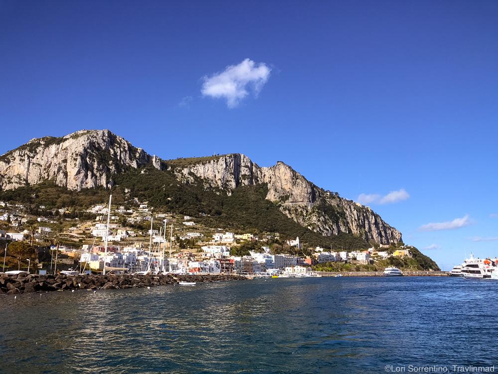 Sorrento to Capri day Trip