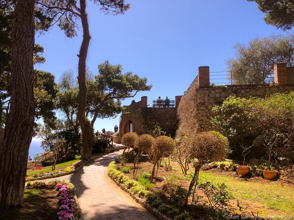 Gardens of Augustus, Island of Capri, Italy