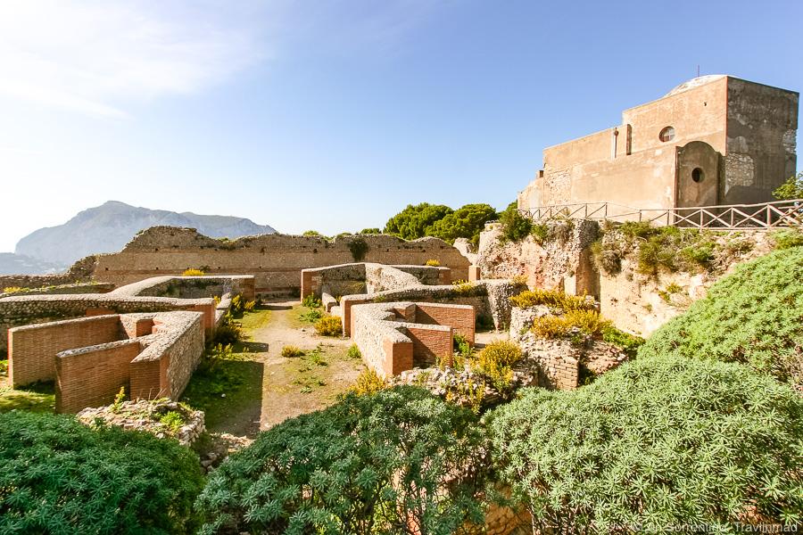 Villa Jovis, Island of Capri, Italy