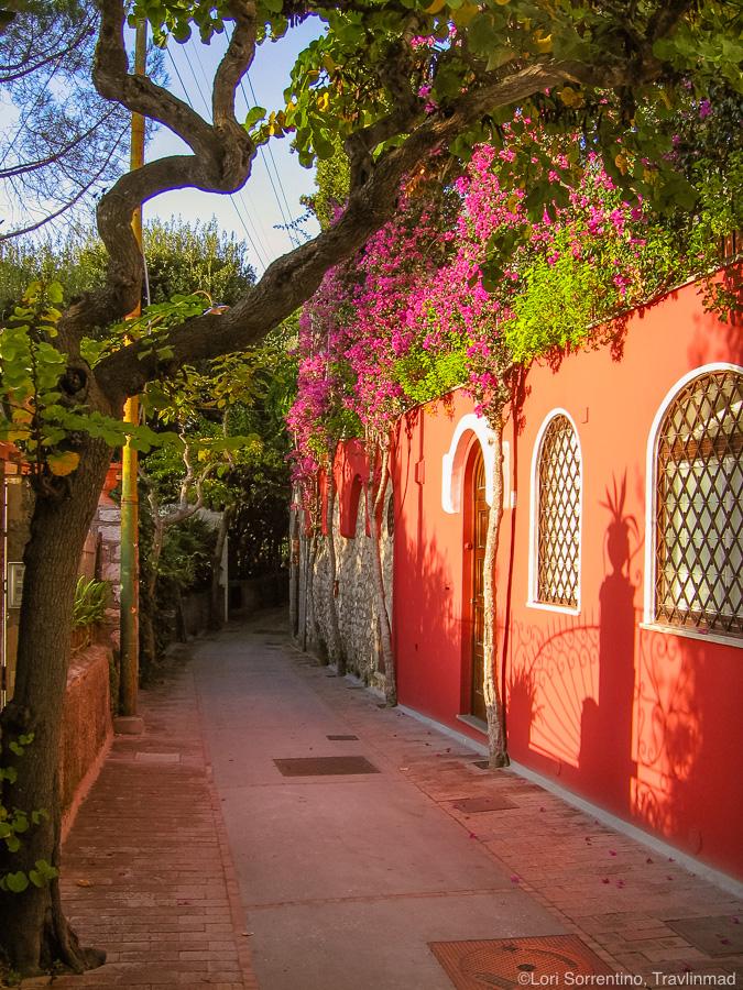 Via Tragara, Capri, Italy