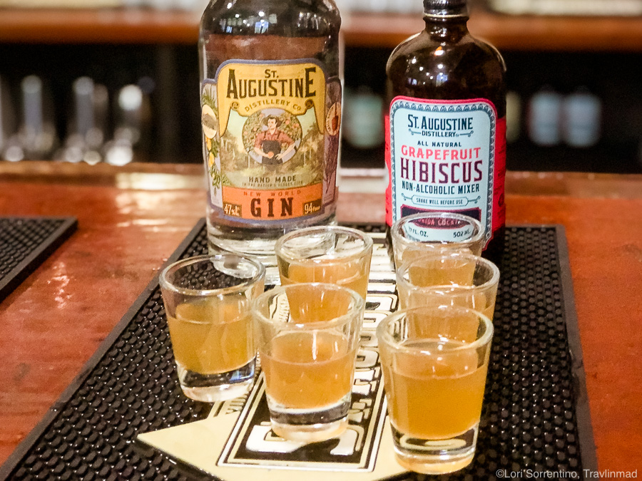 Tasting at St Augustine Distillery