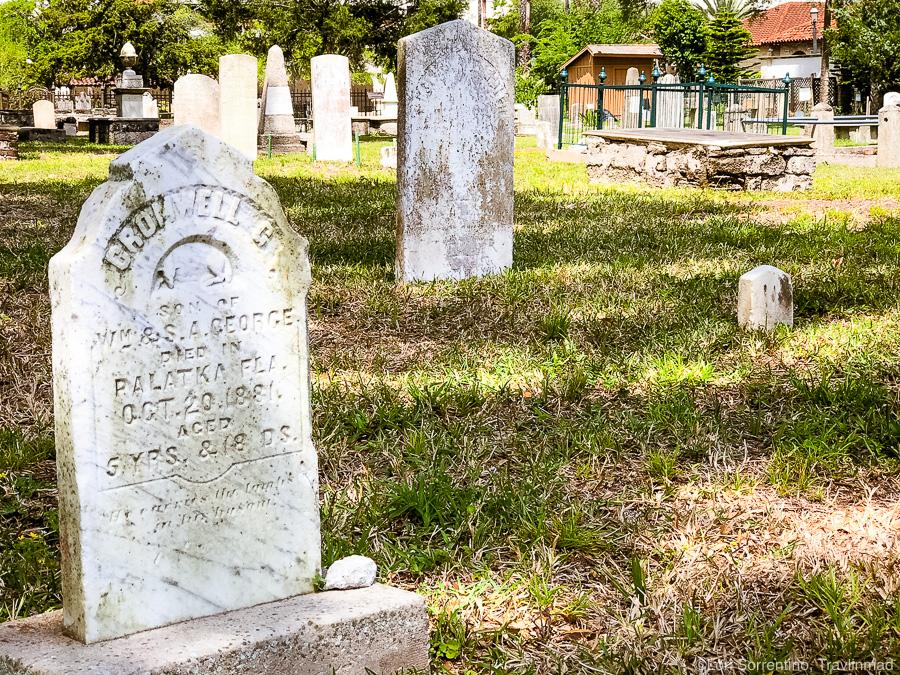Huguenot Cemetery, St Augustine, Florida