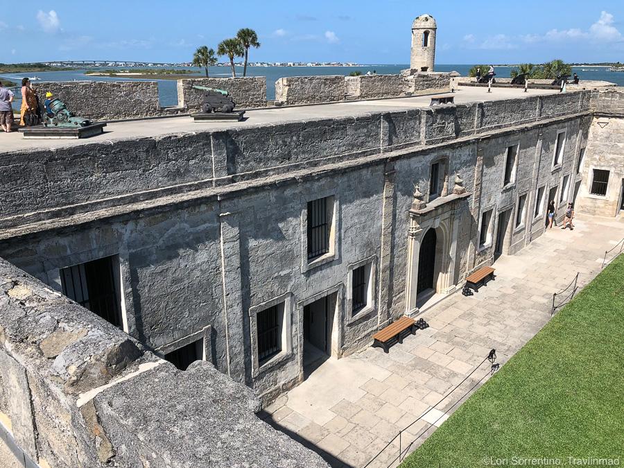 Castillo de San Marcos in Historic St Augustine