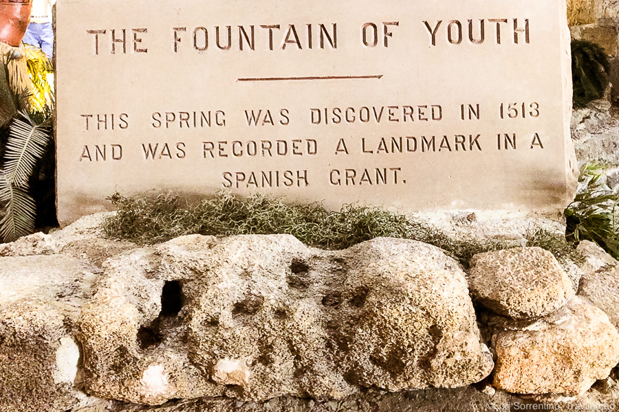 Fountain of Youth Archaeological Park in Historic St Augustine