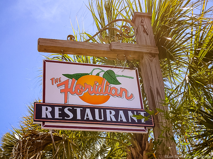 The Floridian Restaurant in the St Augustine Historic District