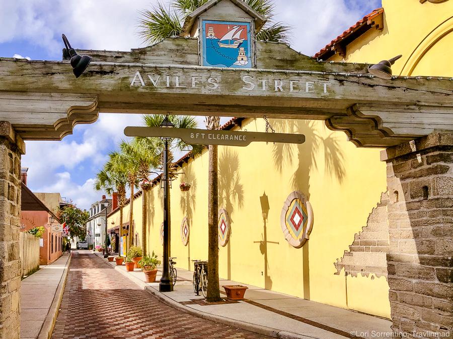 Aviles Street, Old Town St Augustine