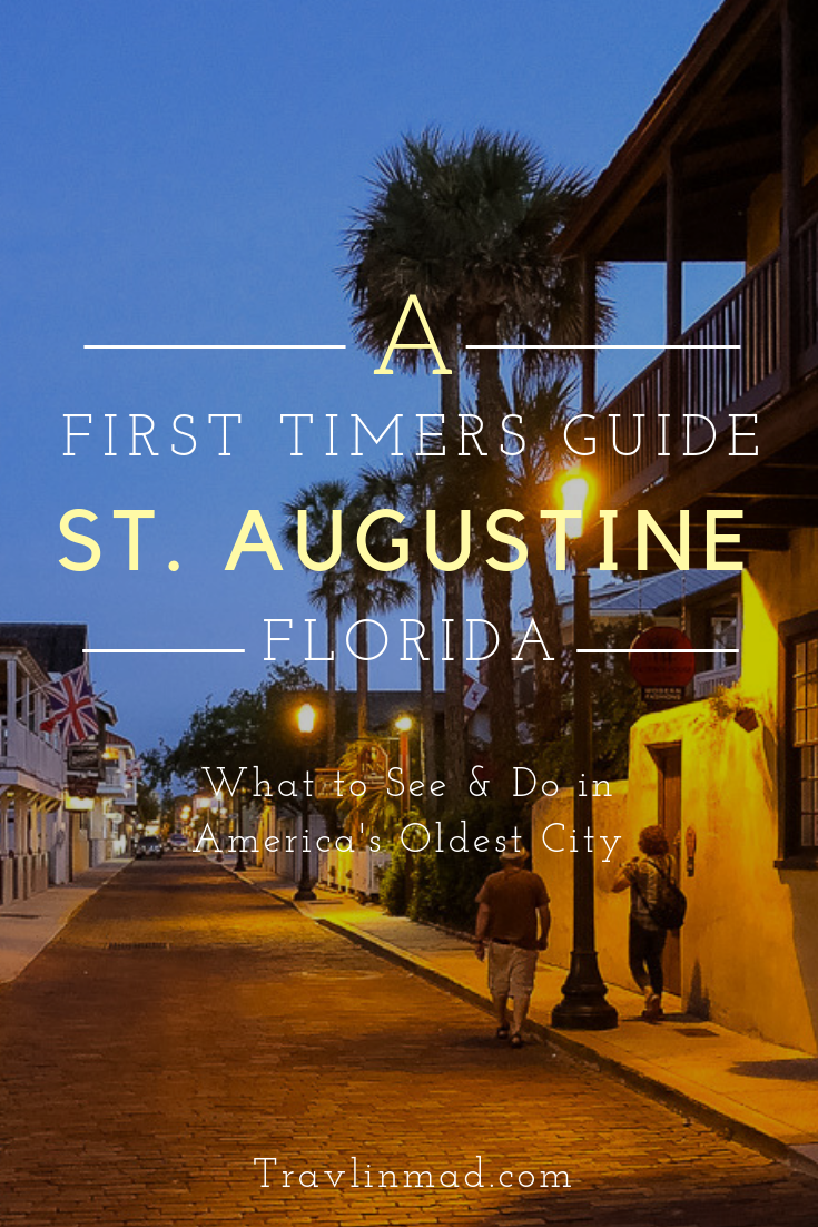 Old Town St Augustine is the oldest city in America, not just in #Florida. Spend several days exploring the many #StAugustine attractions that comes with over 400 years of history!