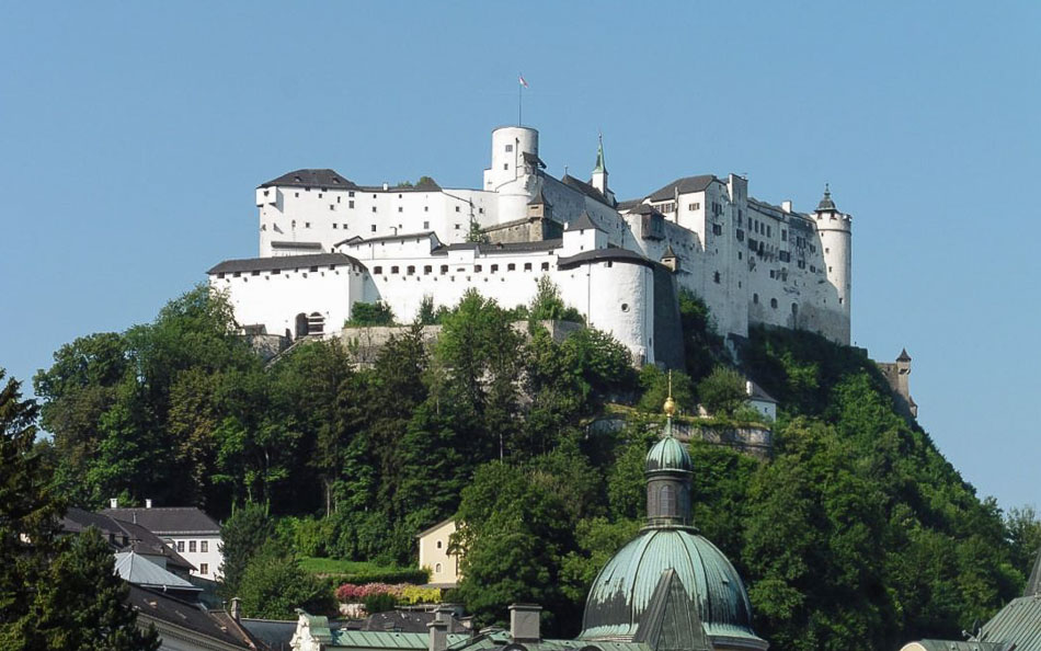 Salzburg's Hohensalzburg Fortress is definitely one for your European bucket list, Photo: Nomad by Trade
