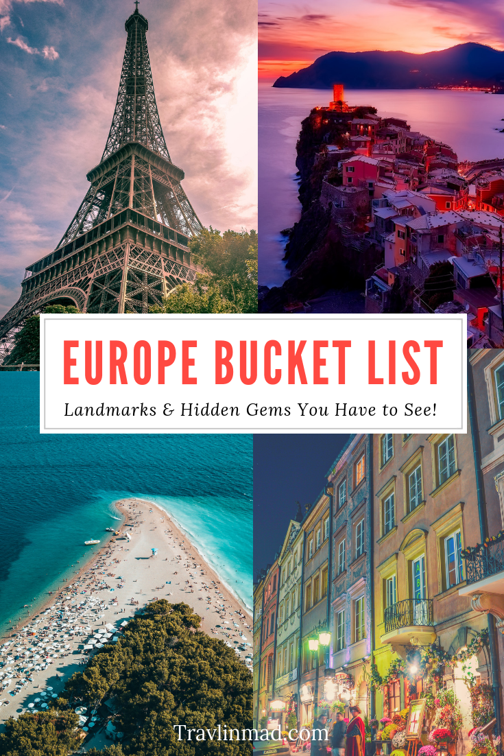 Looking for some new gems for your Europe bucket list? Travel experts around the world told us their favorite European landmarks and some undiscovered hidden gems for your ever-growing list!