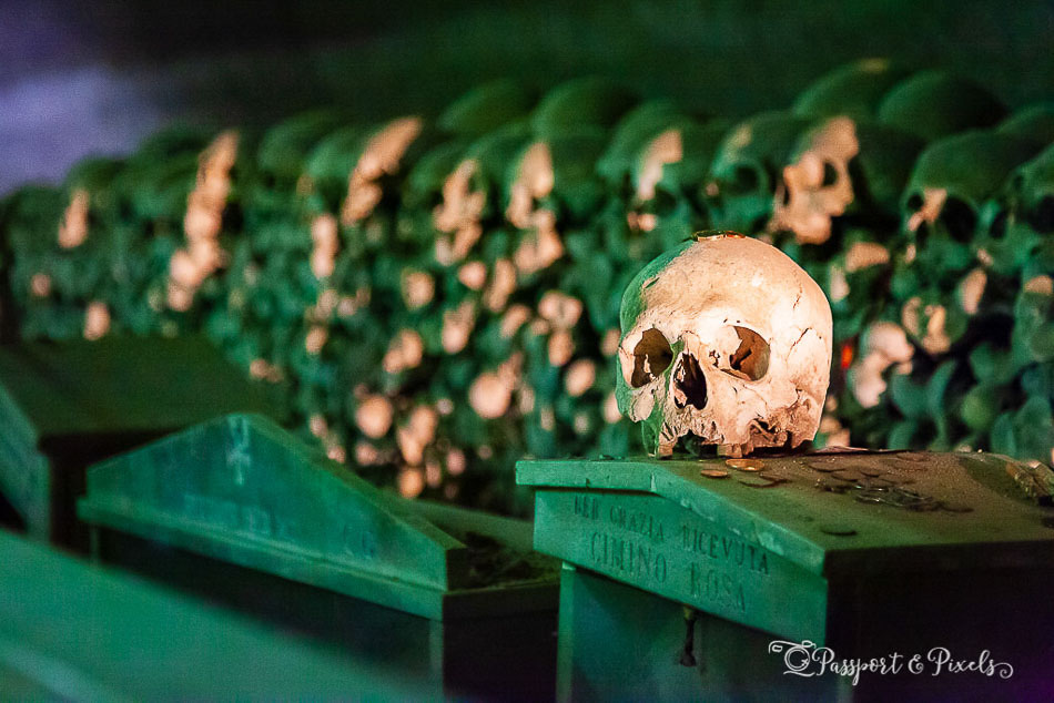 The macabre Fontanelle Cemetery in Naples