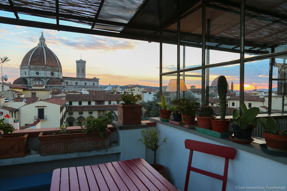 The most amazing Florence Airbnb, Photo: Travlinmad