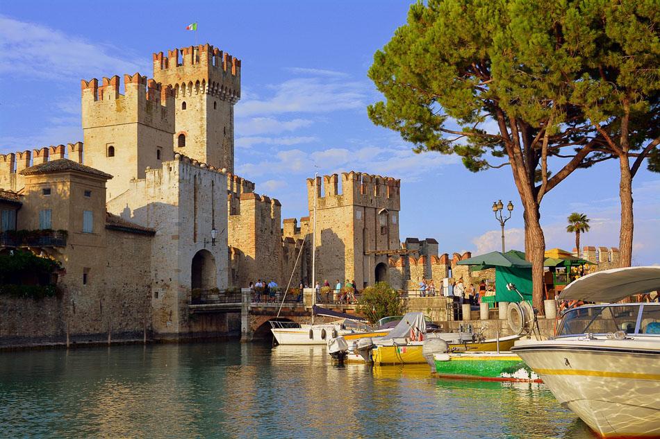 Sirmione Castle, Lake Garda, Italy