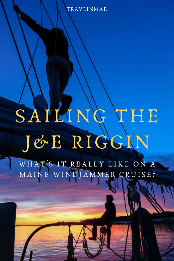 #Mainewindjammercruises may just be the ultimate in slow travel. Sail aboard the Schooner #J&ERiggin on a 3, 4 or 7 day eco-friendly travel adventure through Penobscot Bay.