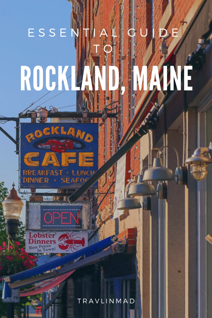 There are so many unique things to do in Rockland, Maine for food and art lovers, set in one of the most scenic landscapes in the world! #rocklandmaine