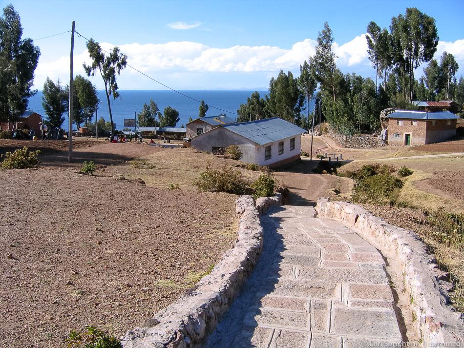 Isla Amantani, Peru