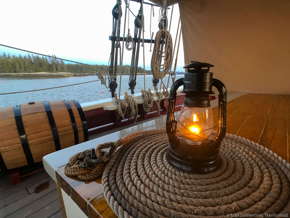 Sailing in Maine on a windjammer cruise