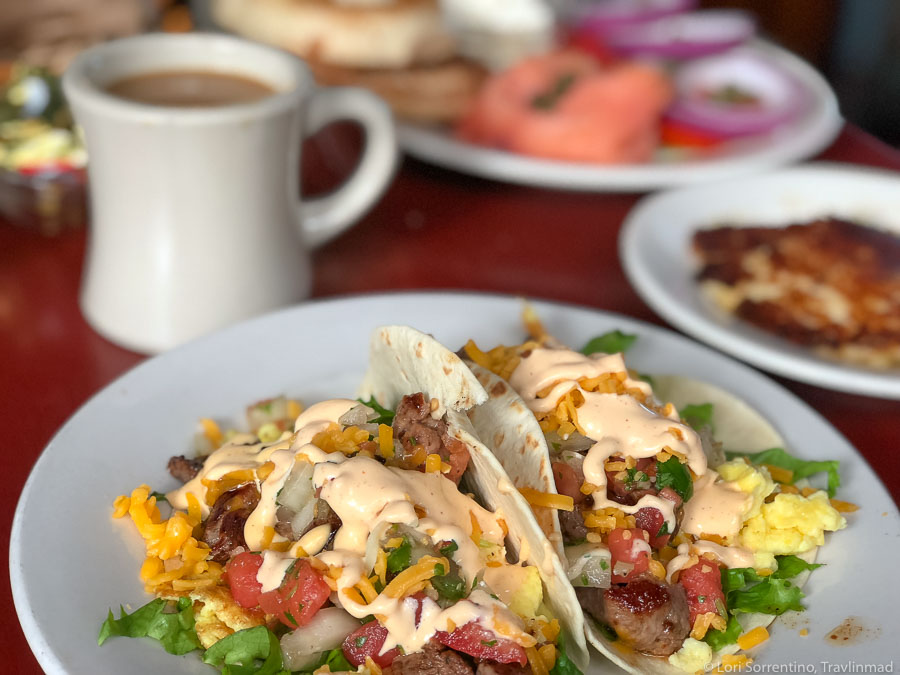 Breakfast tacos at Pepe's, Key West, Florida