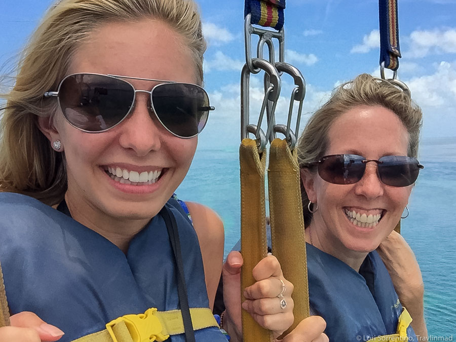 Parasailing in Key West, Florida