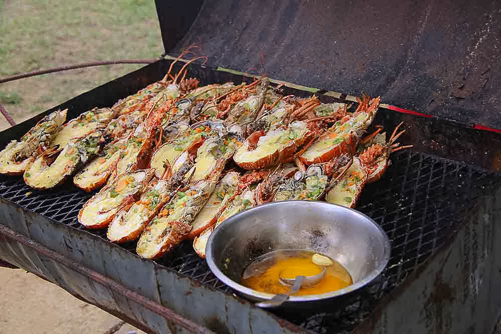 Fresh-grilled-Jamaica-lobster-Negril