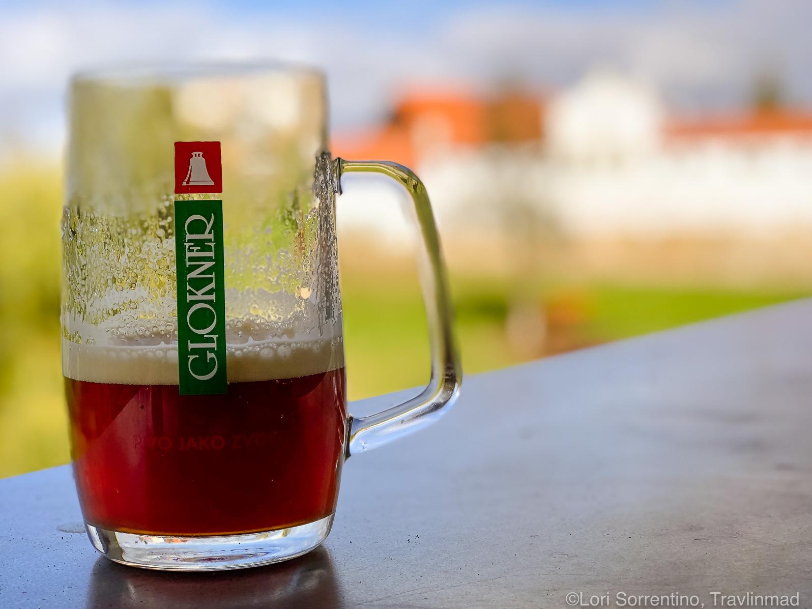 Glockner beer made by Svachovka brewery