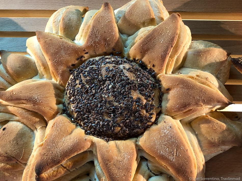 Dekorativni sunflower kruh