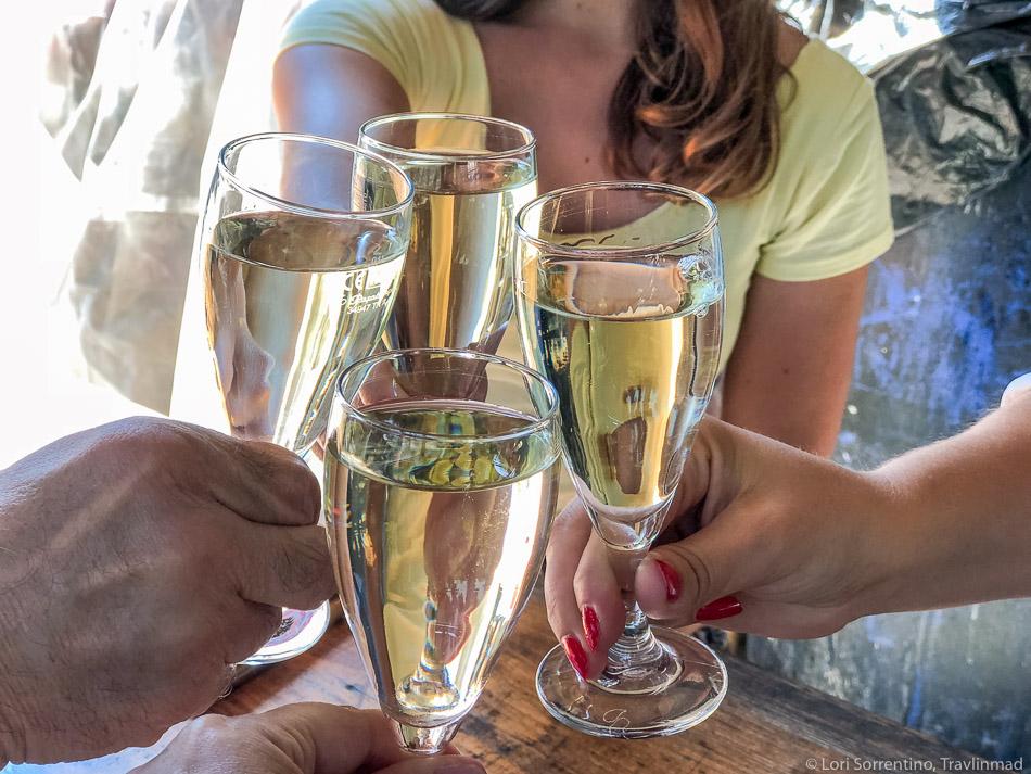 Na Zdravje! Toasting with Slovenian wine