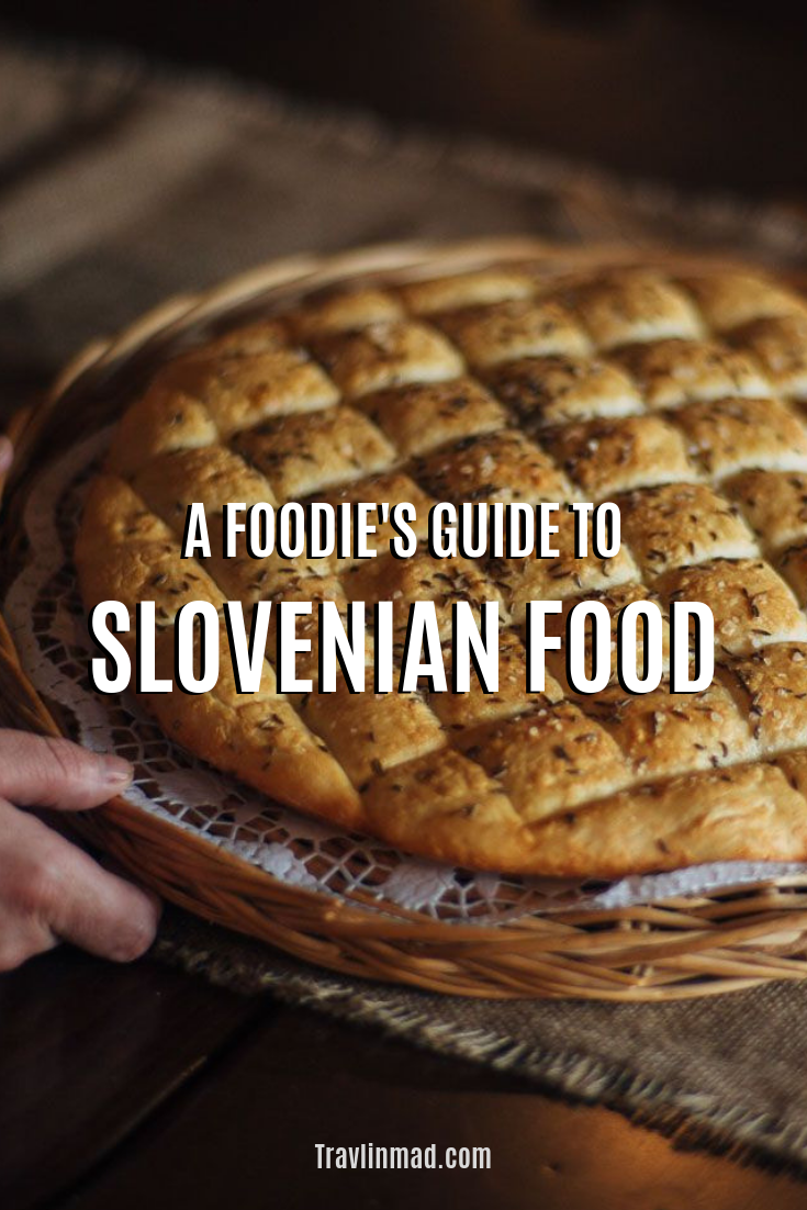 This Slovenian food guide shows you what to eat in Slovenia, what's typical, and how over 20 unique gastronomy regions are changing the way you'll look at traditional Slovenian food!