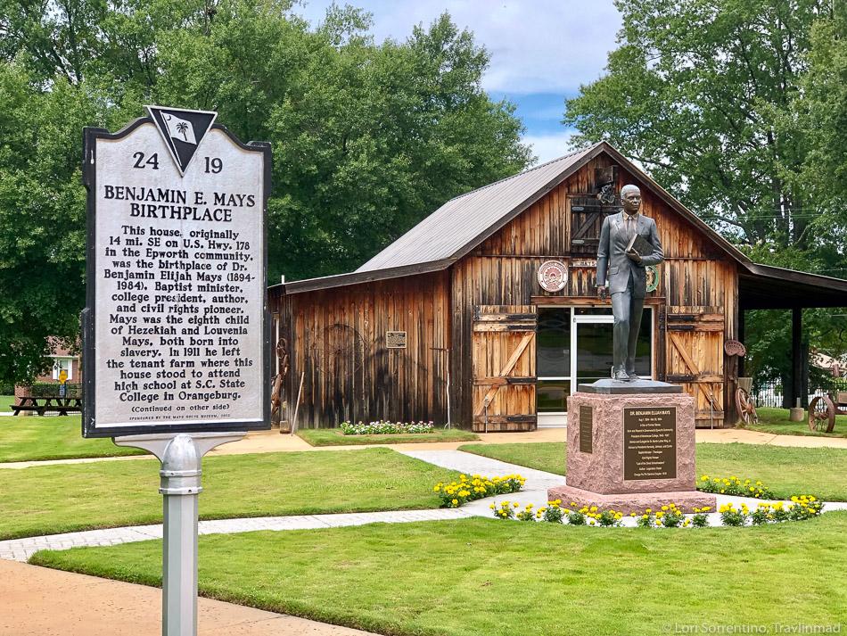 Benjamin E. Mays Birthplace