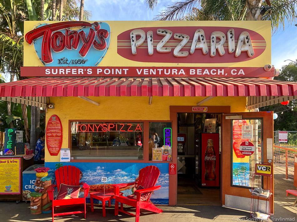 Favorite Ventura Food Experience? - Tony's Pizzaria for Food, Fun, & Giant Jenga