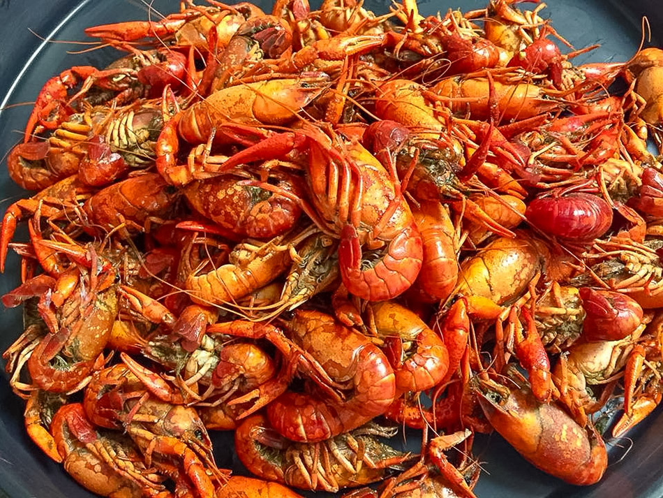 There's always a good crawfish boil in Lafayette
