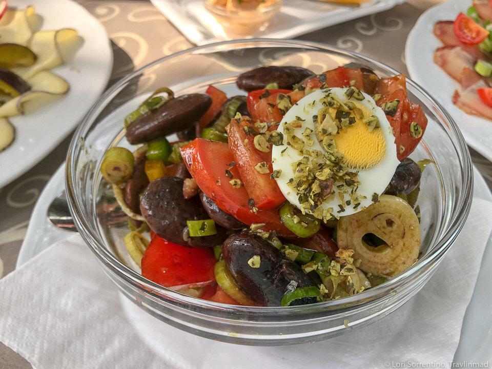 Another variation on Käferbohnen (Runner Bean) salad