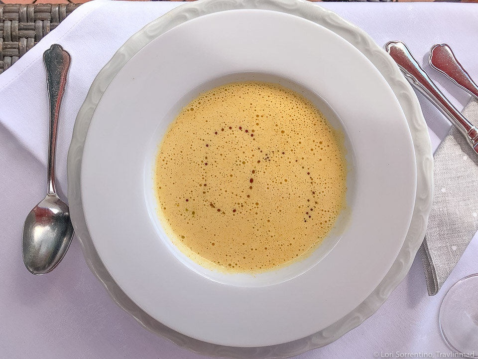 Pumpkin soup in South Styria, Austria