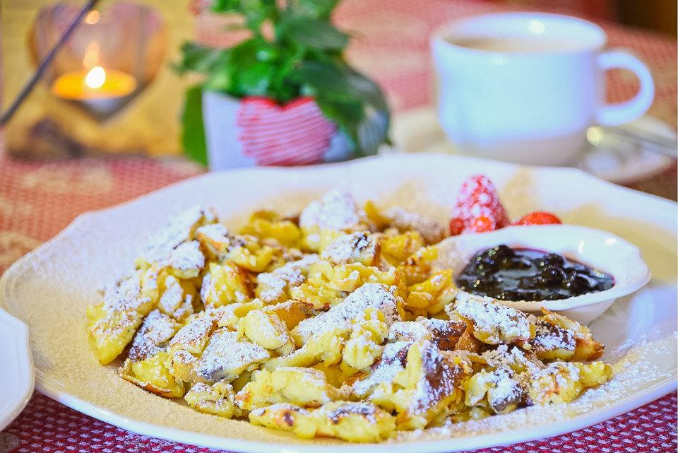 Kaisserschmarrn, a traditional Austrian dessert
