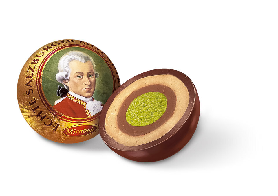 Mozartkugel, Austrian traditional food