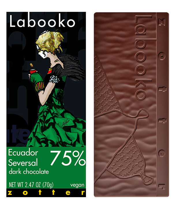Zotter chocolate bars
