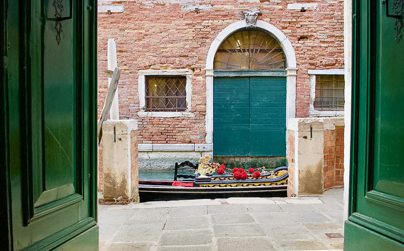 Hotel Le Isole in Venice, Italy is literally steps from the canal and St. Mark's Square
